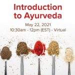 Product Image Introduction to Ayurveda May 22, 2021 10:30am - 12pm EST with Sage & Fettle Ayurveda Angelina Fox, ERYT500, YACEP, Ayurveda Health Counselor and Yoga Teacher in Northern Virginia and Washington DC